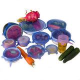 Reusable Silicone Stretch Lids (6-piece set)