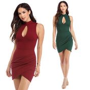 Keira Bodycon Keyhole Dress