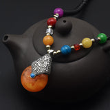 Colors of the World Pendant Necklace