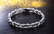 Men's Bike Chain Bracelet
