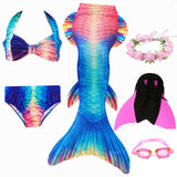 Amatheia™ Mermaid Swimsuit Set