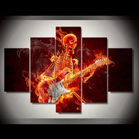 Skeleton Rock'n Guitar