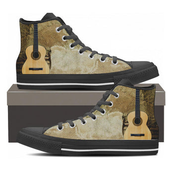 Acoustic Guitar High Top Shoes