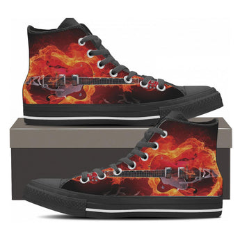 Flaming Archtop High Top Shoes