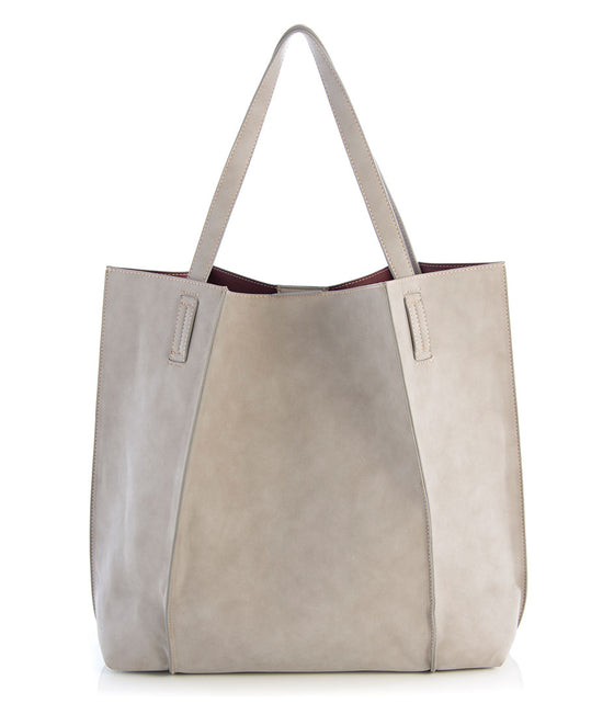 Shiraleah Blair Everyday Tote in Stone - Lounge Beauties