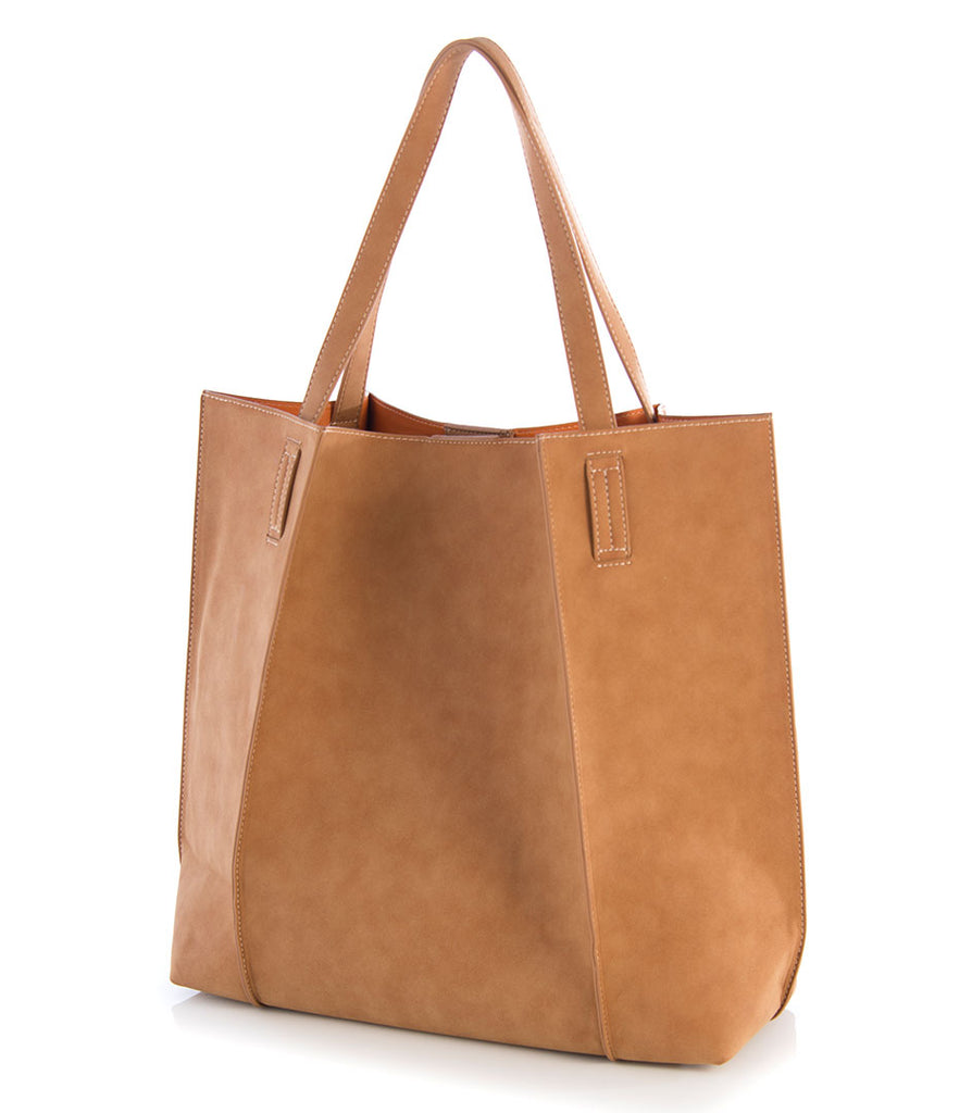 Shiraleah Blair Everyday Tote in Tan - Lounge Beauties