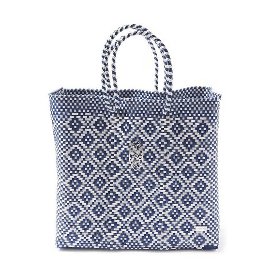 Lola's Oaxaca Tote in Blue - Lounge Beauties