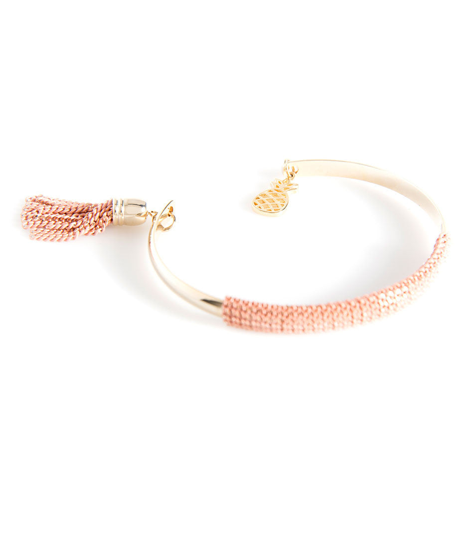 Shiraleah Valentina Blush Cuff Bracelet - Lounge Beauties