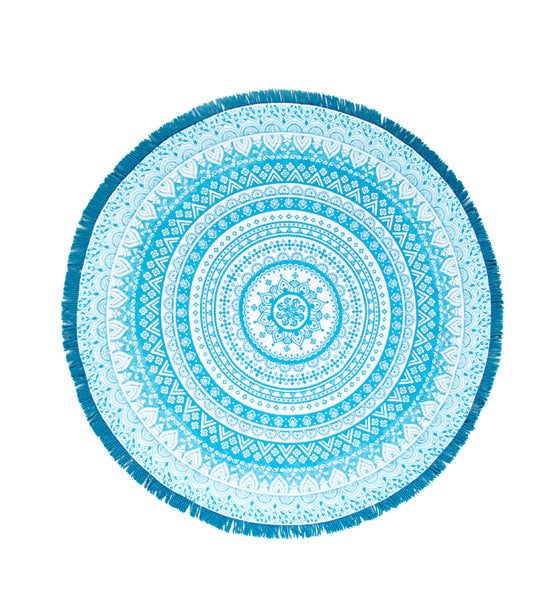 Shiraleah Veda Small Round Beach Blanket - Lounge Beauties