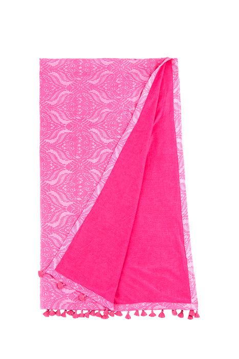 Shiraleah Moxie Beach Towel in Pink - Lounge Beauties