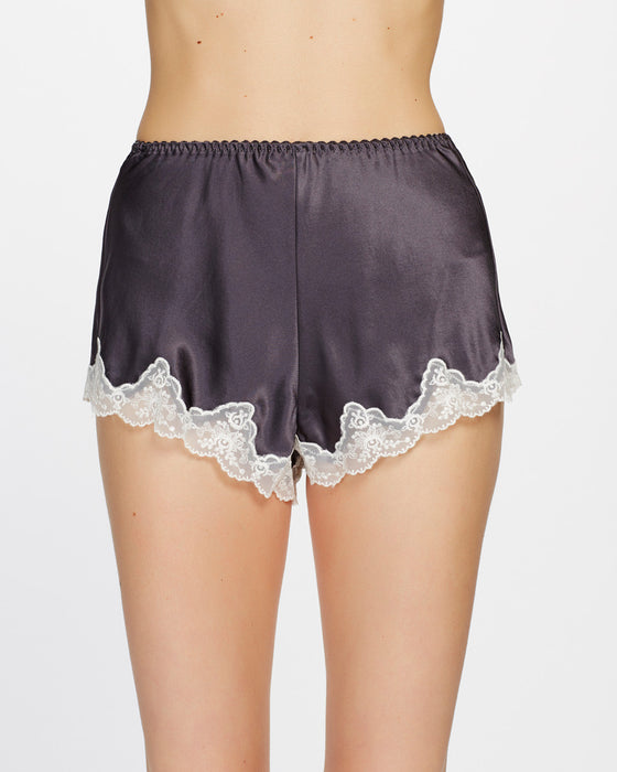 Ginia Pure Silk Knicker with Lace