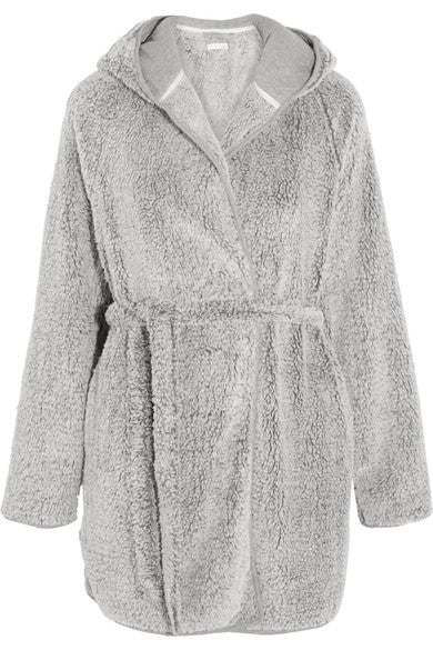 SKIN Farren Fuzzy Robe - Lounge Beauties