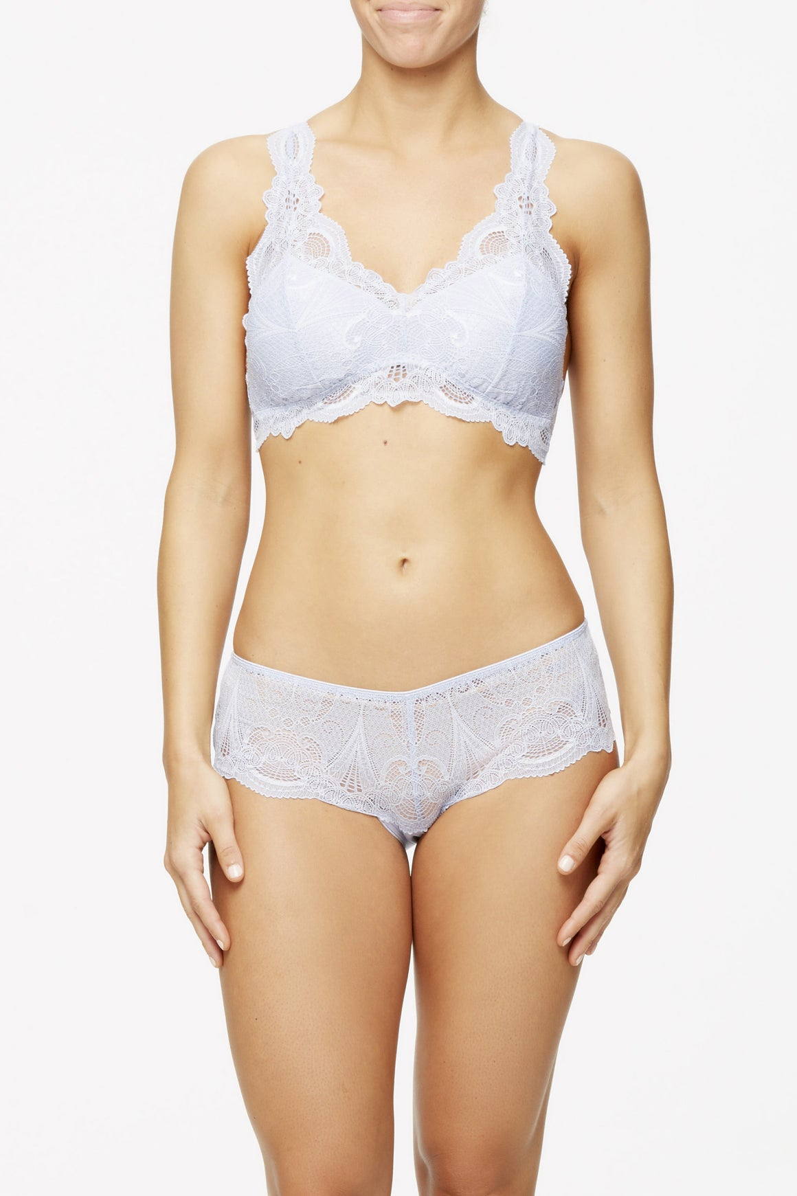 Fleur't Belle Epoque Lace Front Brief - Lounge Beauties