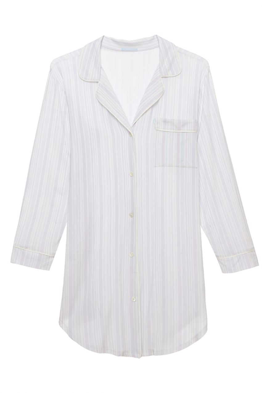 Eberjey Painted Stripes Sleepshirt - Lounge Beauties