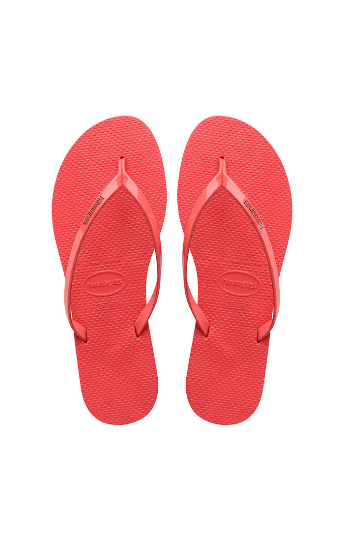 Havaianas You Coral Metallic Sandal - Lounge Beauties