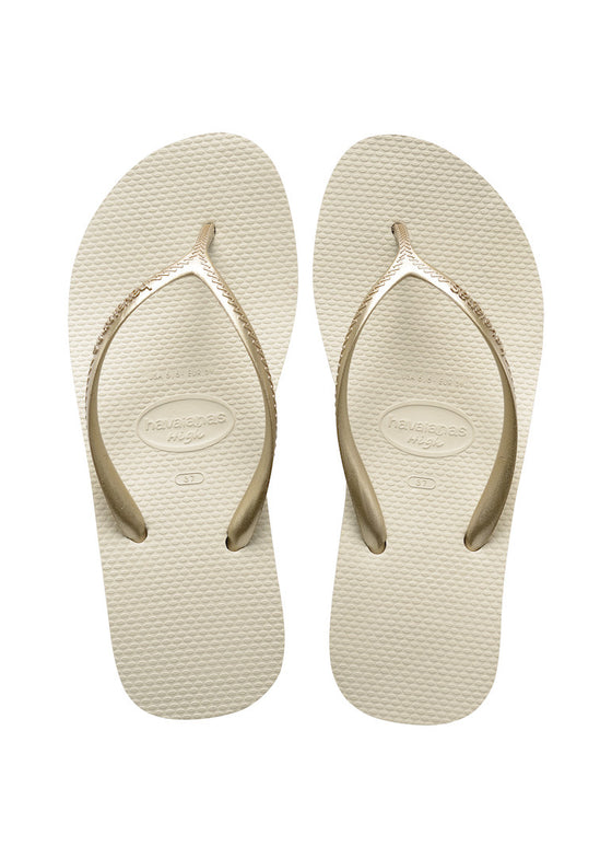 Havaianas High Fashion Sandal in Beige - Lounge Beauties