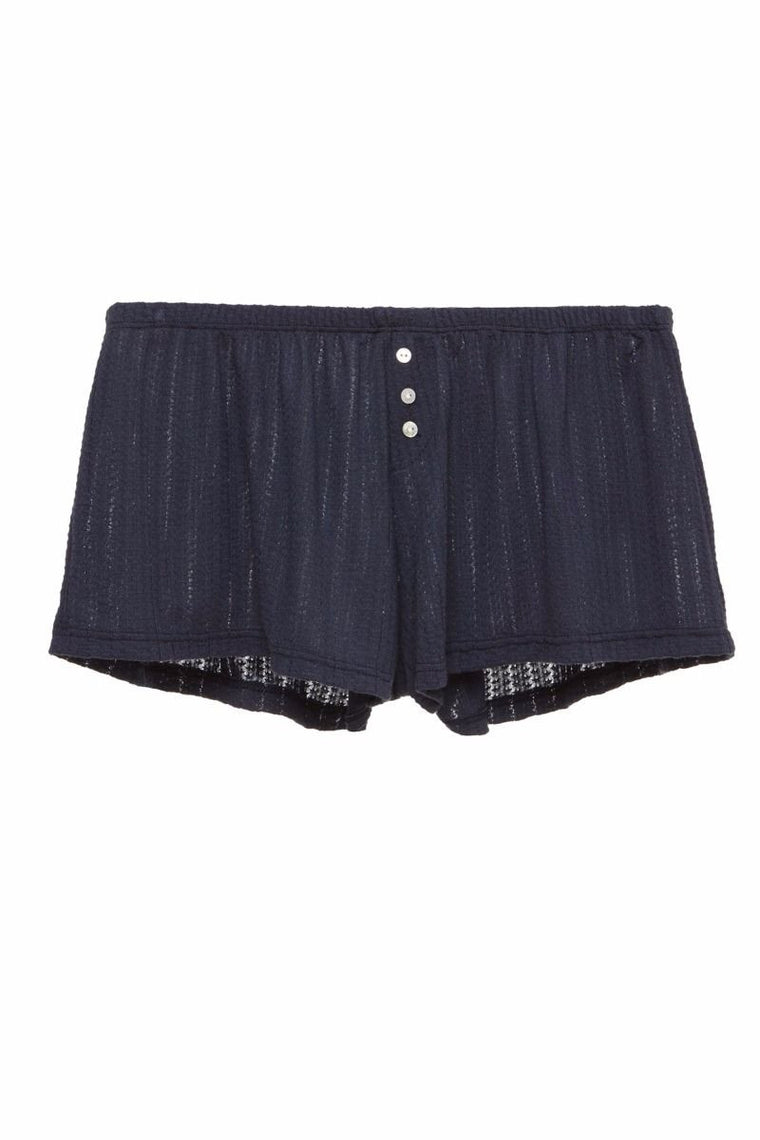 Eberjey Baxter Shorts in Blue Nights