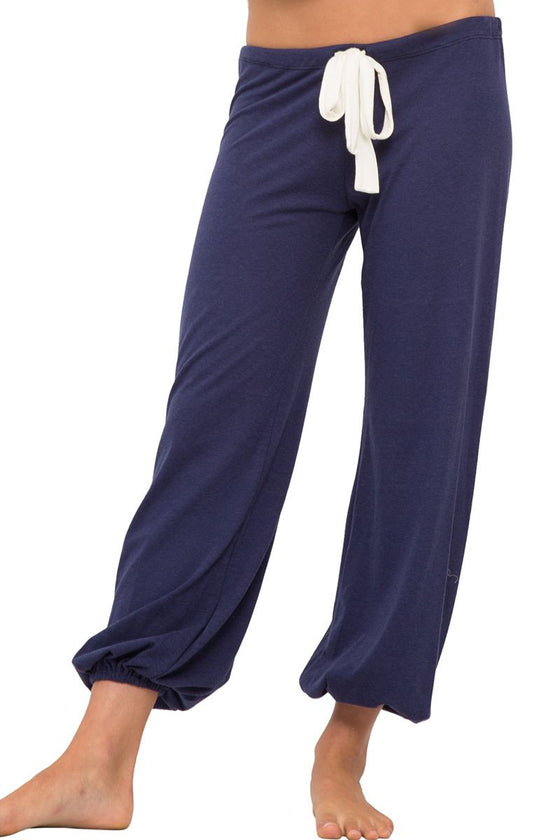 Eberjey Heather Cropped Pant - Lounge Beauties