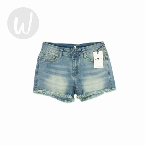 7 For All Mankind Denim Shorts Size 10