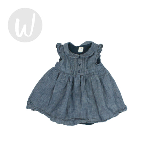 Baby Gap Baby Denim Dress Size 6-12 mo