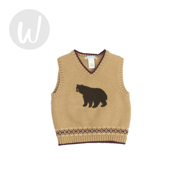 Janie and Jack Sweater Vest Size 2T