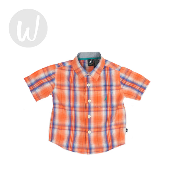 Nautica Button-Down Shirt Size 12 mo
