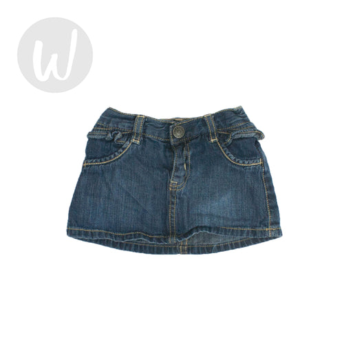 Old Navy Baby Denim Skirt Size 6-12 mo