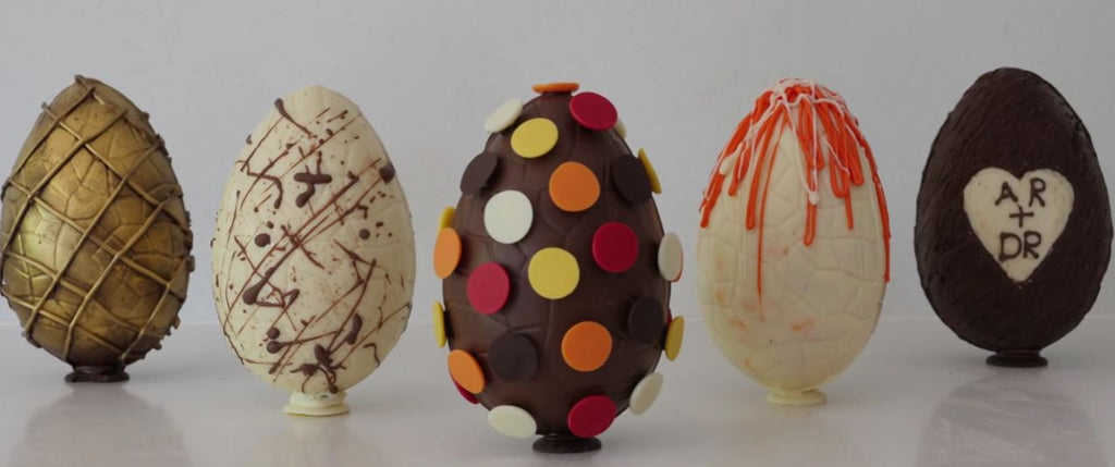 How to ...Amazing Chocolate Eggs at Home!