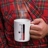 A Magic Coffee Mug, Gauge Heat Sensitive Thermometer!