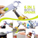 Opens any Bottle, Can or Jar Quickly & Easily!