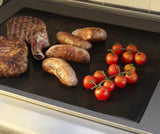 NEW! Reusable No Stick BBQ Grill Roast Mat Sheet.