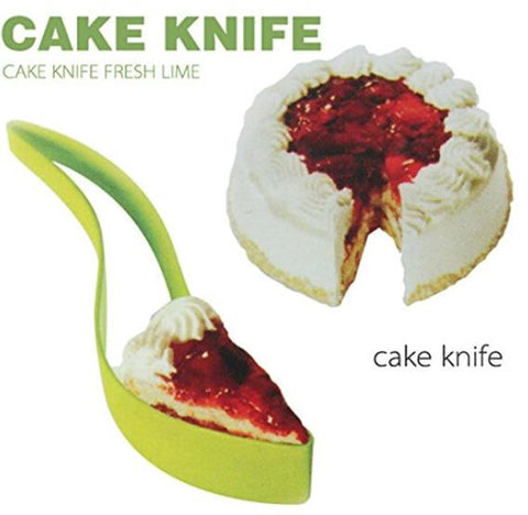 New! One-piece Cut Cake Knife Cutting Clip Cake Pie Slicer Knife.