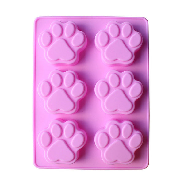 3D Mold Cake Cat / Dog Paw Cookie.