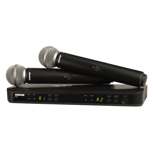 Shure BLX288/SM58 Dual Handheld Wireless Microphone System