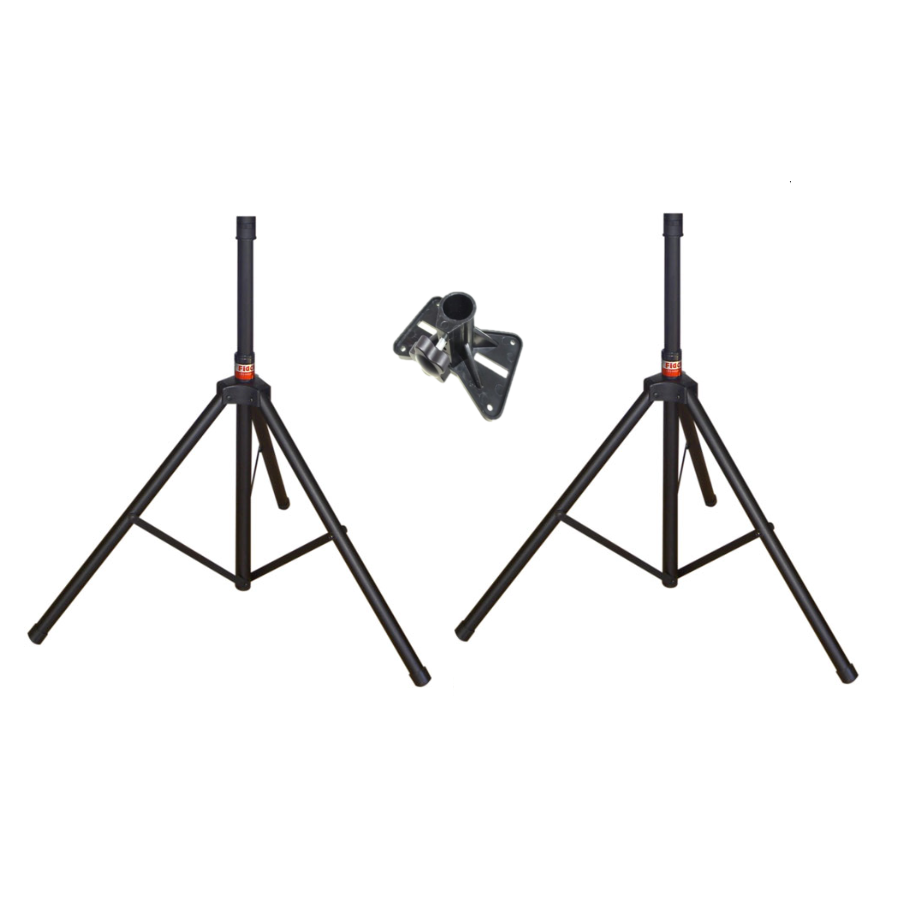 Newnabie NB-051 Heavy Duty Speaker Stand w/ Top Holder (Pair)