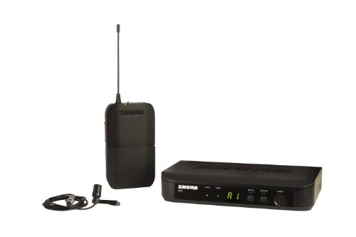 Shure BLX14/CVL Instrument Wireless System with CVL Lavalier Microphone
