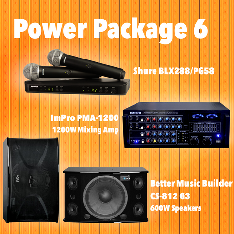 Cerwin Vega Pack #1: Combination Of HD-888(3TB), BLX288/PG58, XLS-215, BA-7800