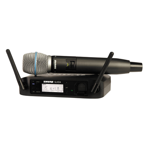 Shure GLXD24/Beta87A Digital Handheld Wireless Microphone