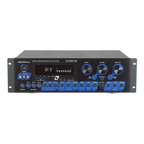 VocoPro KR-3808 Pro Digital Karaoke Mixing Amplifier