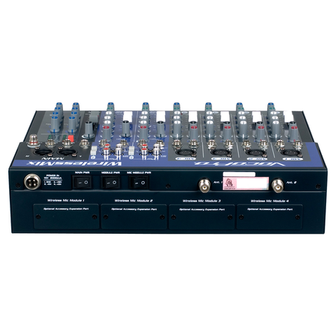 APi M-601 Rack Mountable Professional Karaoke AV Mixer