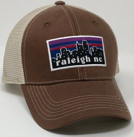 Raleigh Skyline Brown Hat