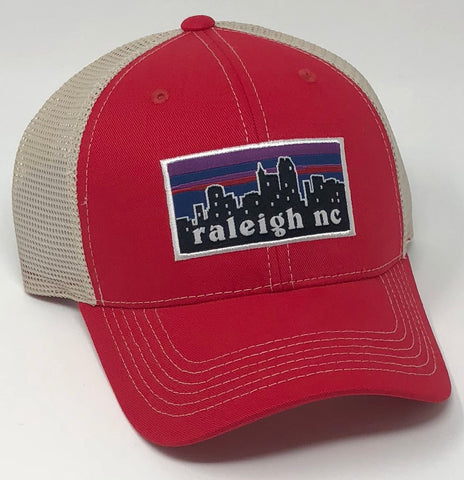 Raleigh Skyline Red Hat