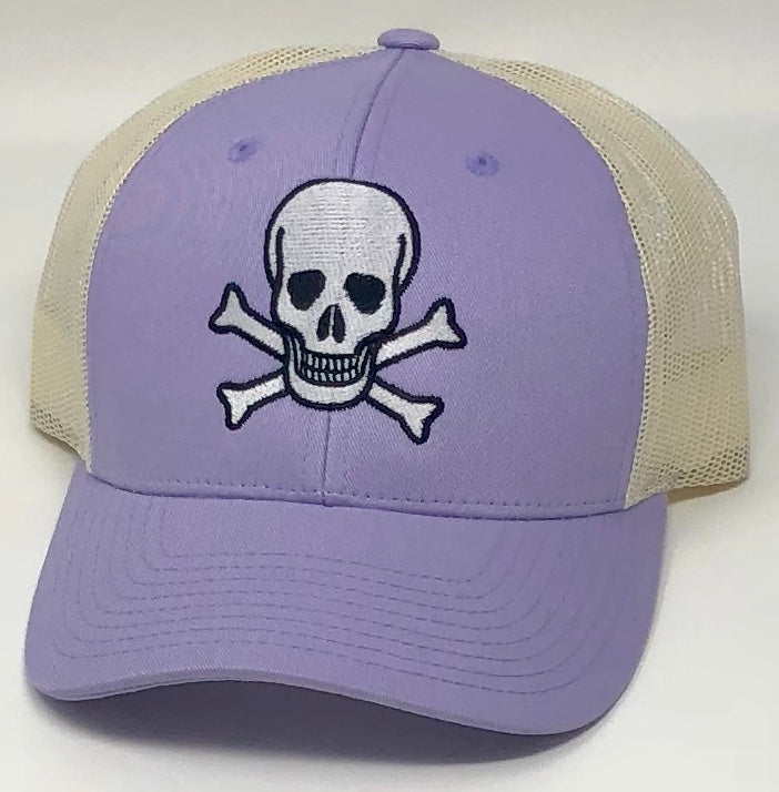 Skull Purple Hat