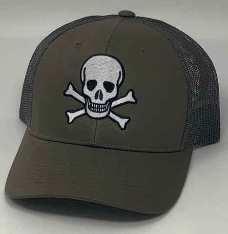 Skull Brown Hat
