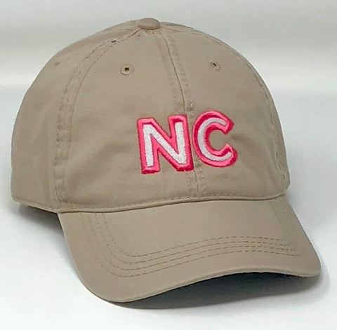 NC Embroidered Polo Khaki Hat