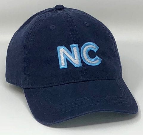 NC Embroidered Polo Blue Hat