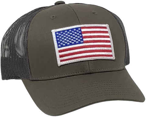 US Trucker Gray Hat
