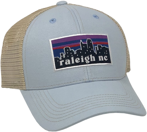Raleigh Skyline Light Blue Hat