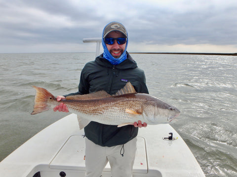 redfish on fly gear