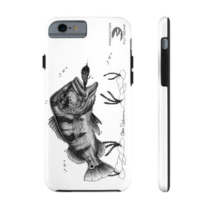 Peacock Bass Tough Phone Case